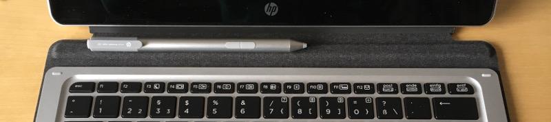 Fedora 25@HP Elite X2 1012